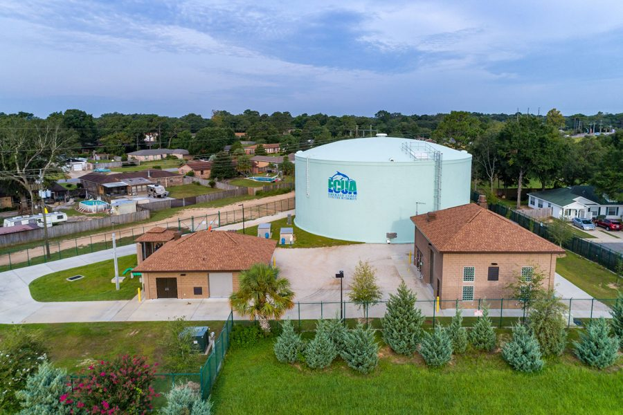 ECUA – Carriage Hills Tank & Water Treatment Facility