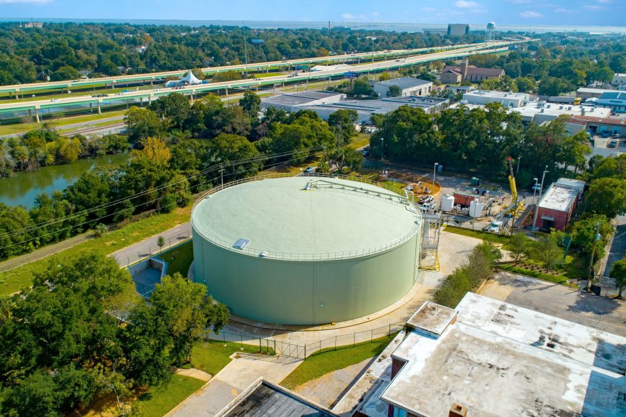ECUA Storage Tank Pensacola FL